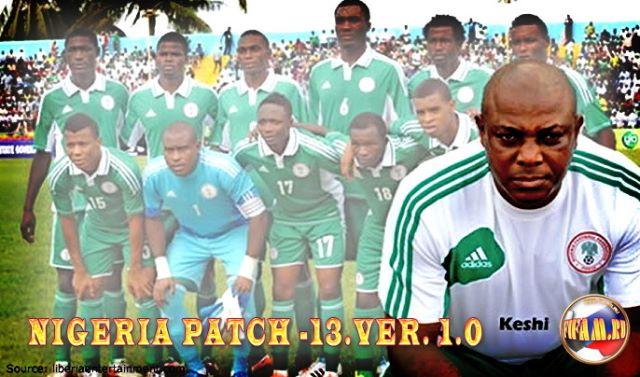 FIFA Manager 13: Мегапатч Нигерии v.1.0