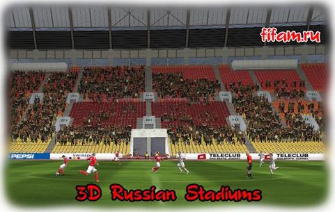 Российская премьер-лига для FIFA 07 - патч, аналогов которому не. . 19 ста